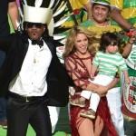 Shakira y Milan en la final