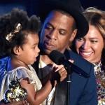 La hija de Beyonce comienza a demostrar sus dotes artísticas