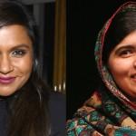 Mindy Kaling la confundieron con la ganadora del Nobel de la Paz