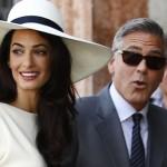 luna de miel de George Clooney Amal Alamuddin