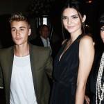Justin Bieber, Selena Gómez, Kim Kardashian