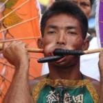 festival vegetariano de Tailandia