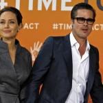 fotografías de Angelina Jolie y Brad Pitt peleando