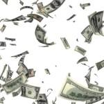 camión de valores desparramó 15 millones de dólares