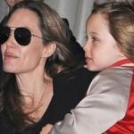 hija de Angelina Jolie se viste como un niño
