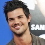 """estrella de """"Crepúsculo"""" Taylor Lautner"""