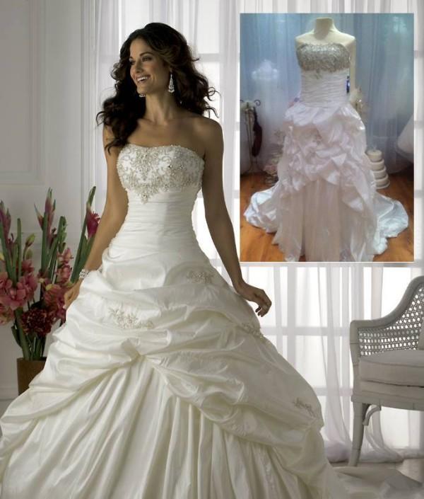 dinero novias de internet trajes