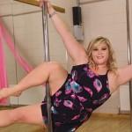 bailarina de pole dance