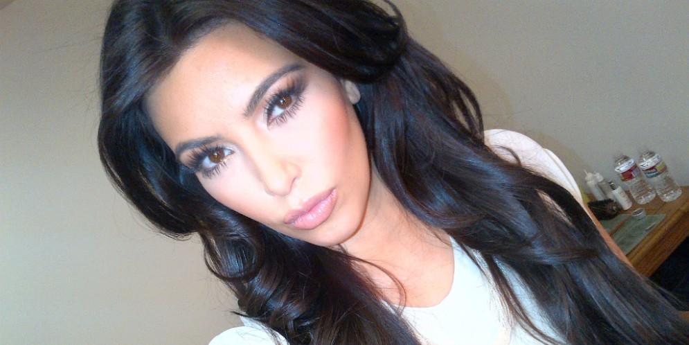 Kim Kardashian retoca sus selfies
