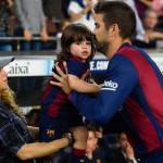 Shakira y Gerard Piqué llamaron a su segundo hijo Sasha