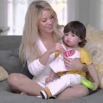 Shakira compartió un video de su hijo Milan