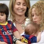 Shakira, Milan y Sasha