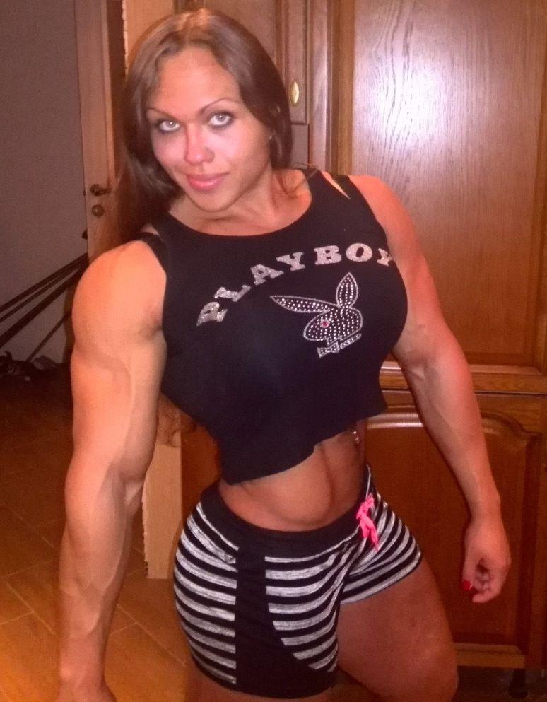Imágenes de Natalya Trukhina, la mujer musculosa que impresiona a ...