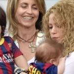 fotos de Shakira y Milan