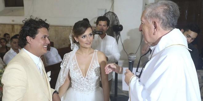Fotos: así fue la espectacular boda de Milena López y Andrés Ardila