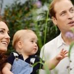 príncipe Jorge y la princesa Carlota