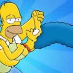 Marge y Homero Simpson