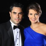 Carolina Cruz y Lincoln Palomeque
