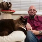 El domador de felinos, Jackson Galaxy