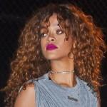 Rihanna nuevamente mostró su figura en las calles con un traje transparente