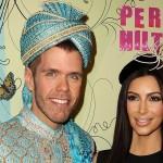 Perez Hilton y Kim Kardashian