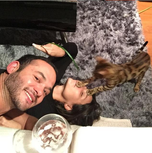 Miguel Zabaleta es el nuevo novio de Paula Andrea Betancur. Fotos: Instagram de Paula Andrea Betancur