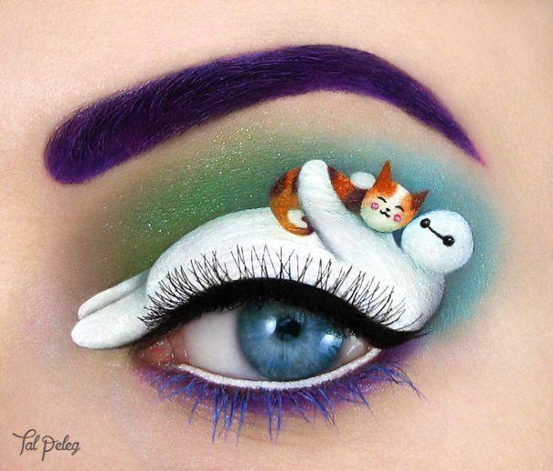 Resultado de imagen para maquillaje creativo para ojos