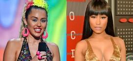 Agarrón, con todo y groserías, de Nicki Minaj y Miley Cyrus en los premios MTV