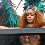 Rihanna se gozó el carnaval en su país natal