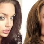 la doble escocesa de Angelina Jolie