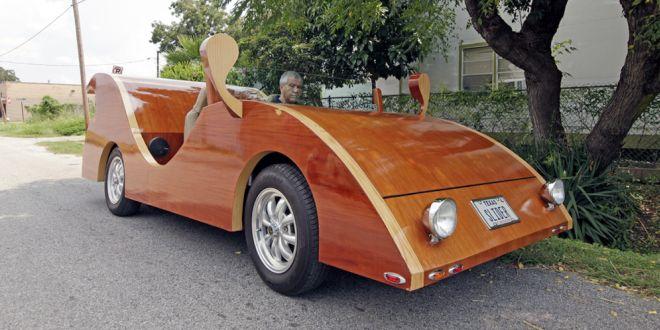 Sorprendentes carros hechos en madera no son juguetes ni for Carritos de cocina de madera