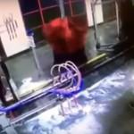 atrapado en un lavado automático para autos