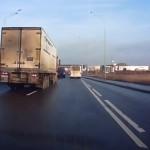 camion en la autopista