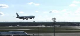 Video: inesperado desenlace del aterrizaje de un avión se vuelve viral en internet