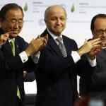 que se acordó en Paris con respecto al cambio climático
