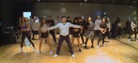 """Curioso video: Psy y su grupo de baile en plena práctica del éxito """"Daddy"""""""