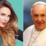 belinda y el papa francisco