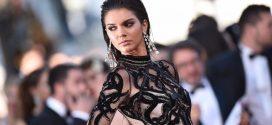 Kendall Jenner dejó ver su piercing con una atrevida transparencia