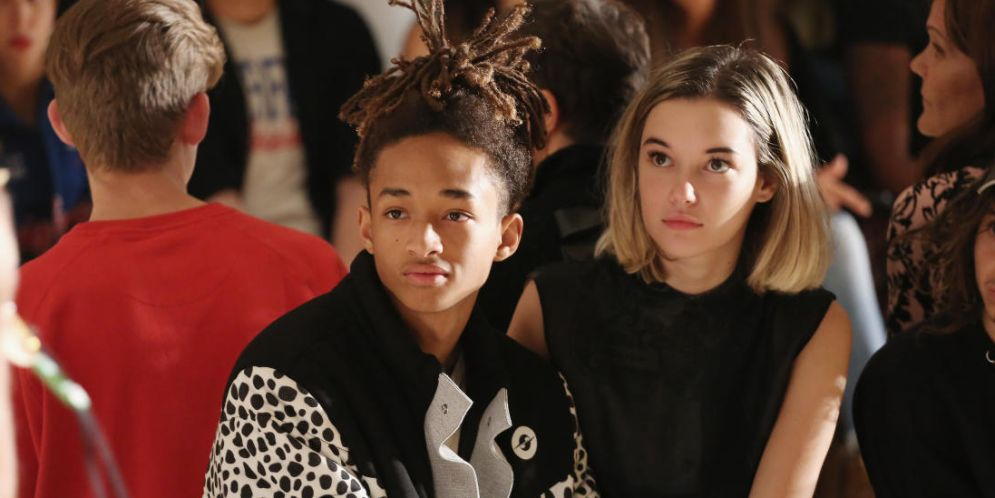 Fotos de Jaden Smith y su novia
