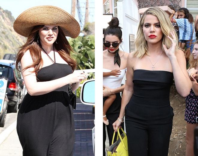 pérdida de peso de Khloe Kardashian