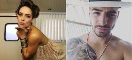 [Video] ¡Ardiente! Así fue el beso de Sara Corrales a Maluma