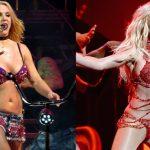 evolución del cuerpo de Britney Spears