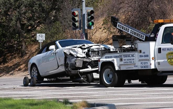 Fotos del accidente de Kris Jenner