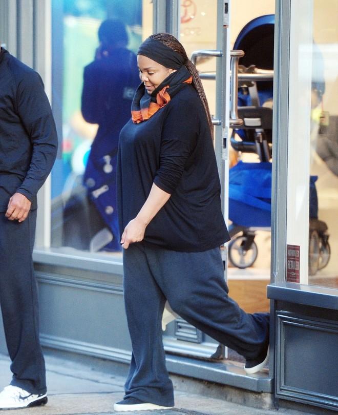 Las primeras fotos de Janet Jackson embarazada Estilo