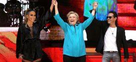 Drama de las celebridades de Hollywood que apoyaron a Hillary Clinton