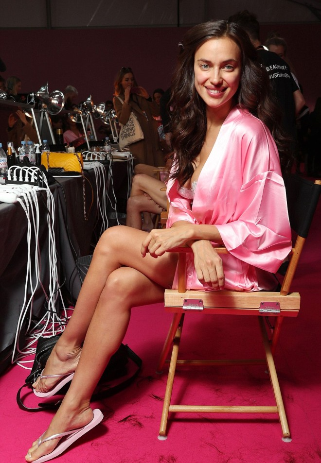 Irina Shayk está embarazada