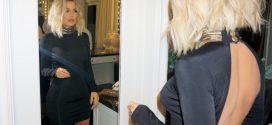 Las mejores imágenes del cuerpo de Khloe Kardashian en minifalda