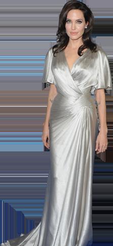 Estatura de Angelina Jolie