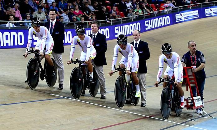 ciclistas de la seleccion colombia