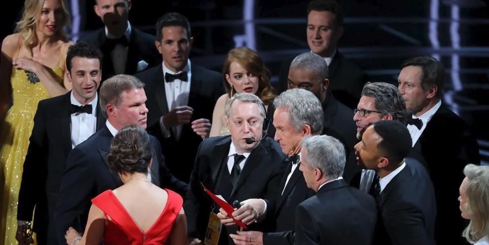 equivocación en los Óscar